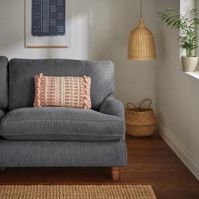 Textured Pom Pom Blush Cushion