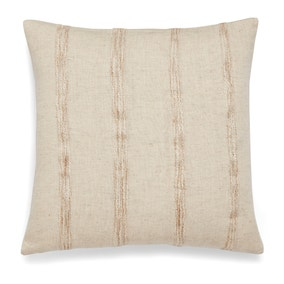 Southwold Stripe Woven Natural Cushion