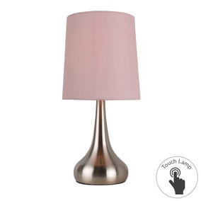 Rimini Pink Touch Dimmable Lamp