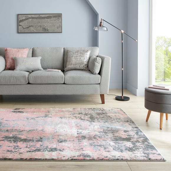 Fusion Abstract Blush Rug  undefined