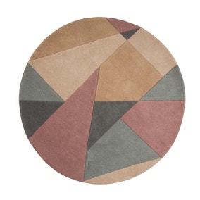 Harper Wool Circle Rug