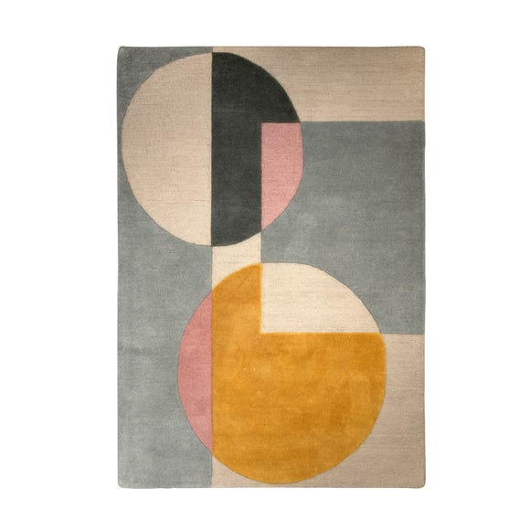 Cobie Wool Rug MultiColoured undefined