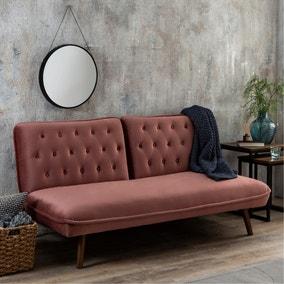 Elodie Velvet Sofa Bed