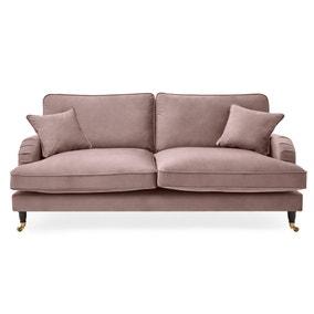 Rupert 3 Seater Velvet Sofa