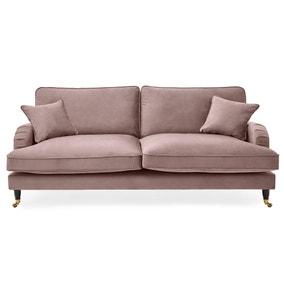 Rupert 4 Seater Velvet Sofa