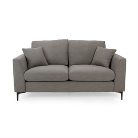 Edison 2 Seater Sofa - Charcoal