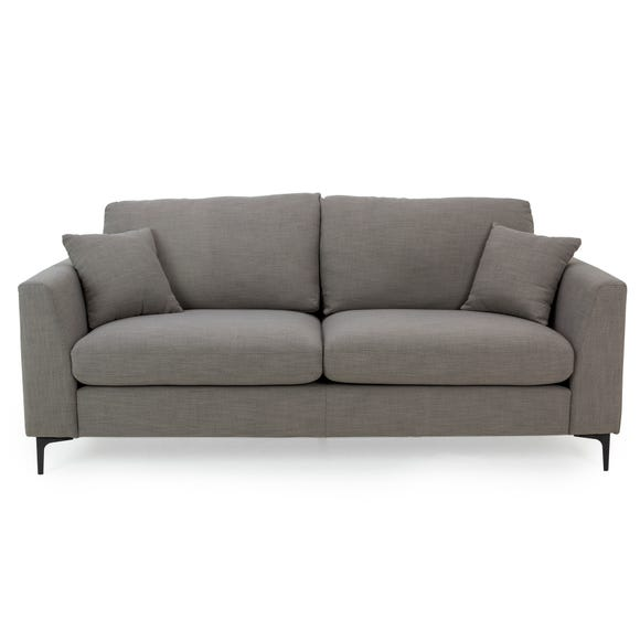 Edison 3 Seater Sofa - Charcoal