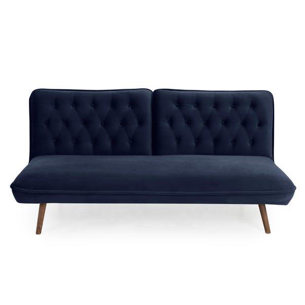 Elodie Velvet Sofa Bed Midnight Blue Elodie