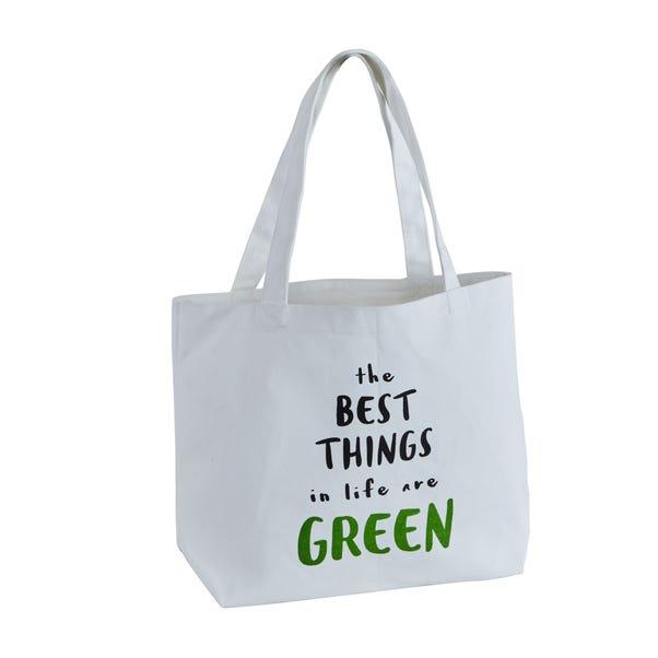 Slogan Shopping Bag MultiColoured