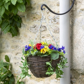 Artificial Flower Hanging Basket