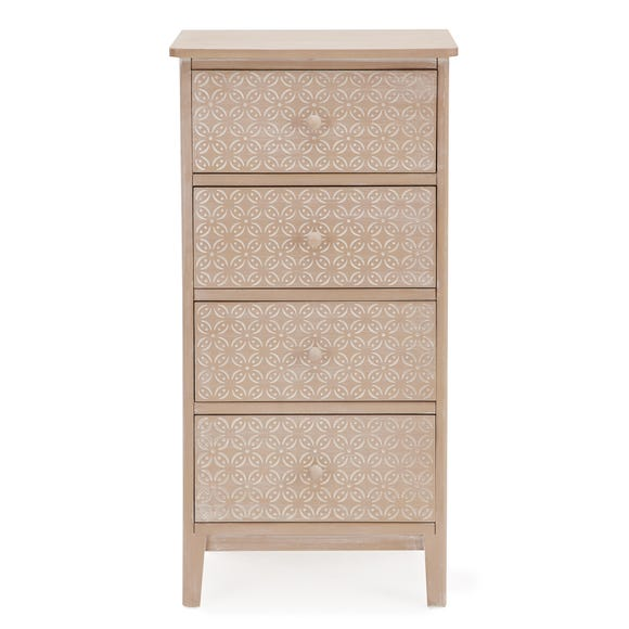 Ivy Tall Chest of Drawers Natural