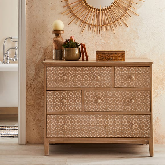 Ivy Chest of Drawers Natural