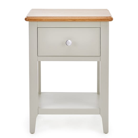 Freya Bedside Table Grey
