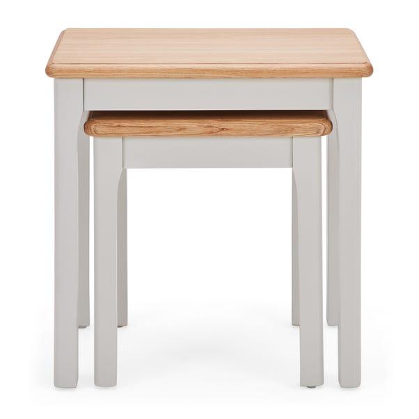 Freya Nest of Tables Grey