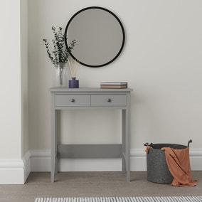 Lynton Compact Grey Dressing Desk