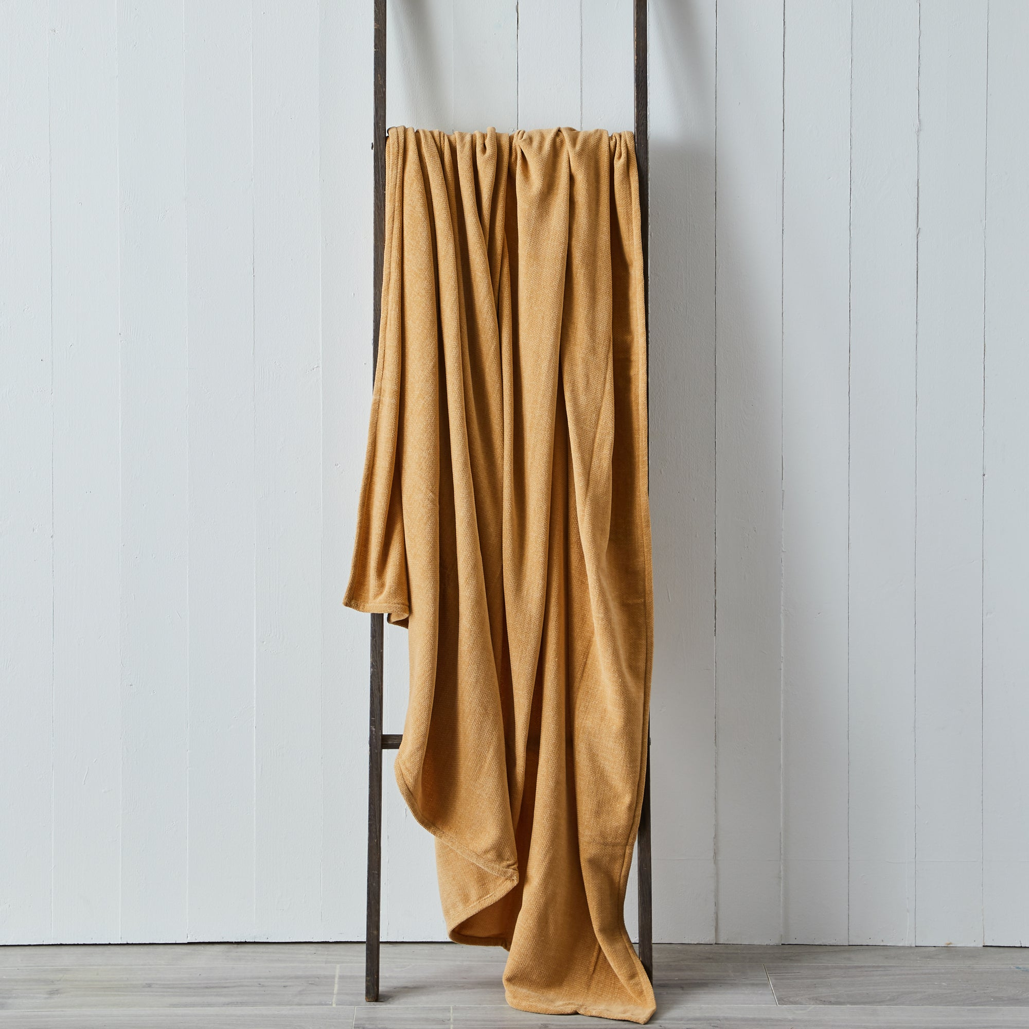Photo of Carys chenille 200cm x 200cm throw carys natural