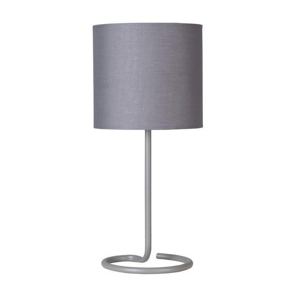 Farrell Grey Table Lamp Grey