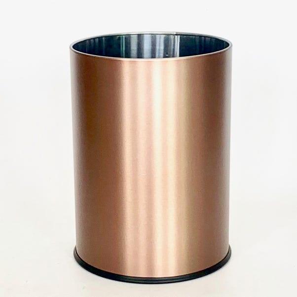 Copper Waste Paper Bin Copper