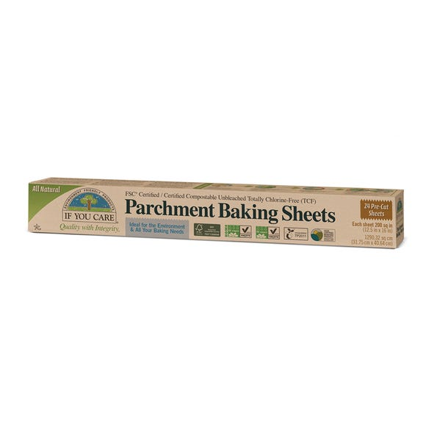 FSC Certified Parchment Baking Sheets Brown