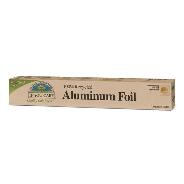 100% Recycled Aluminium Foil Silver