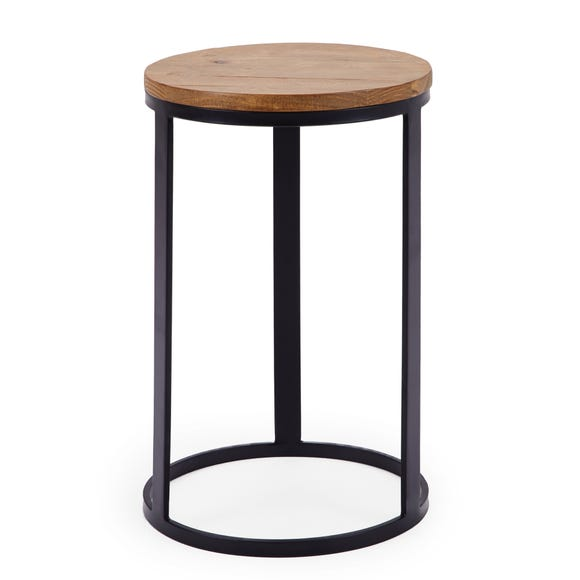 Jackson Drum Side Table Pine