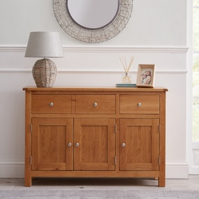 Bromley Oak Large Sideboard