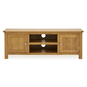 Bromley Wide TV Unit Oak