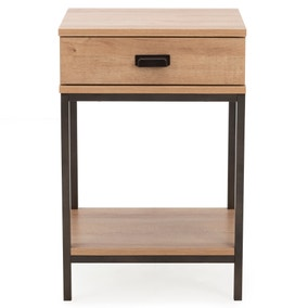 Fulton Oak Effect Side Table