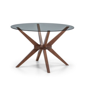 Chelsea Round Glass Table