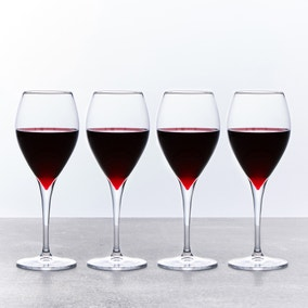 Red Wine Glasses Set of 4 445ml