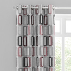 Elements Dahl Rose Eyelet Curtains
