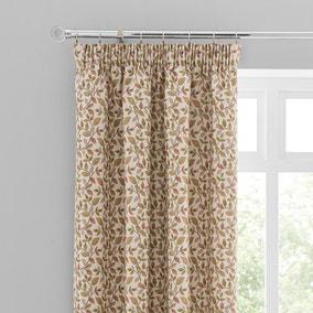 Dianna Green Pencil Pleat Curtains