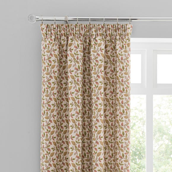 Dianna Green Pencil Pleat Curtains  undefined
