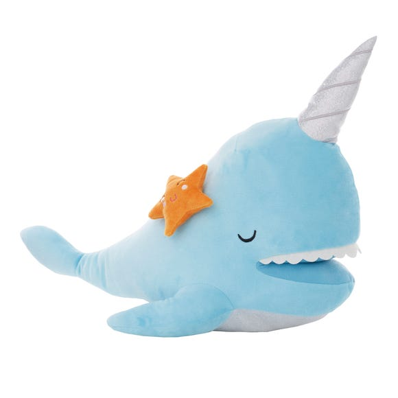 Under the Sea Narwhal Plush Blue