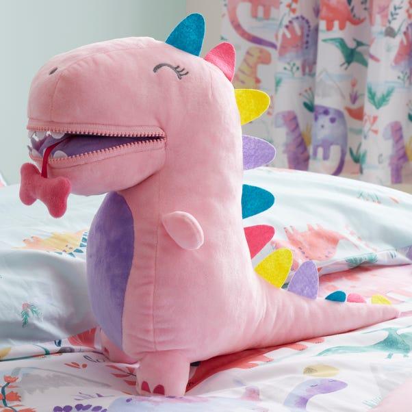 Pink Dinosaur Plush Pink