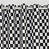 Racing Cars Blackout Eyelet Curtains Black undefined