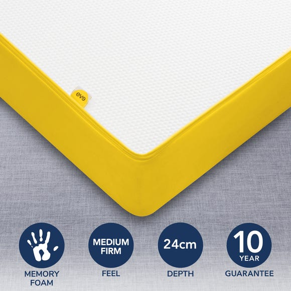 Eve Original Memory Foam Mattress Yellow undefined