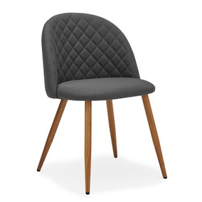 Astrid Chair Charcoal Fabric
