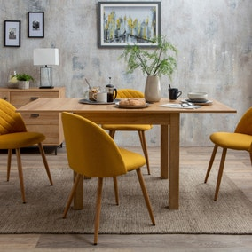 Astrid Chair Yellow Fabric
