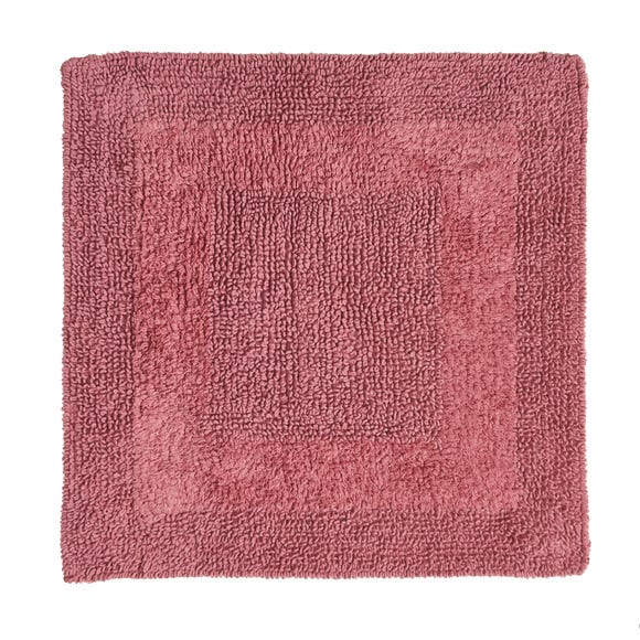 Super Soft Rose Shower Mat