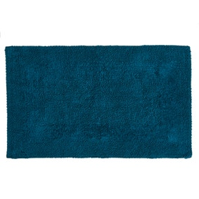 Super Soft Peacock Bath Mat