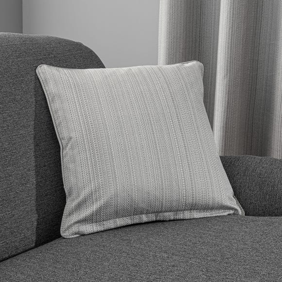 Neptune Cushion Cover Grey undefined