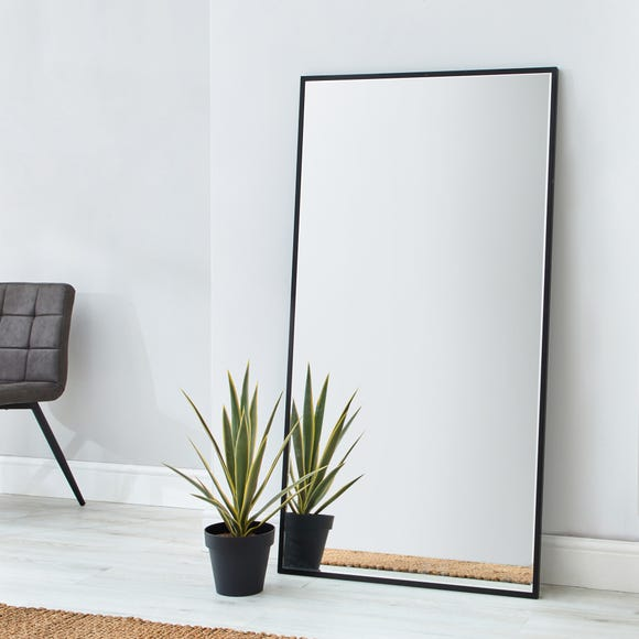 Apartment Leaner Mirror 150x80cm Black Black