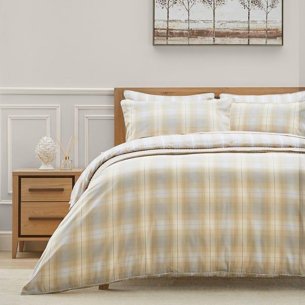 Dorma Buckden 100% Cotton Reversible Duvet Cover  undefined
