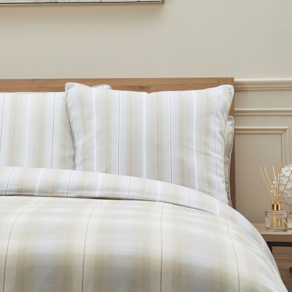 Dorma Buckden Continental Square Pillowcase Natural