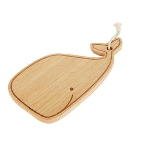 Rubberwood Whale Chopping Board
