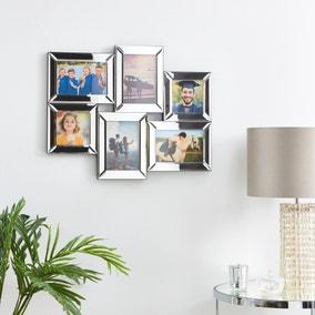 Mirrored Multi App Photo Frame