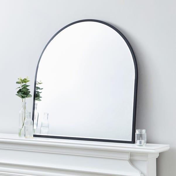 Apartment Arch Wall Mirror 70x70cm Black Black undefined
