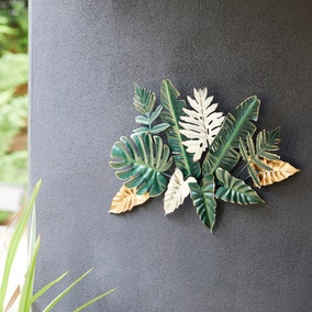 Tropical Leaf Garden Wall Decor