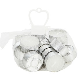 Pack of 20 White Citronella Tealights